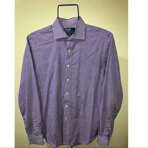 Polo by Ralph Lauren Men's Button Down Dress Shirt